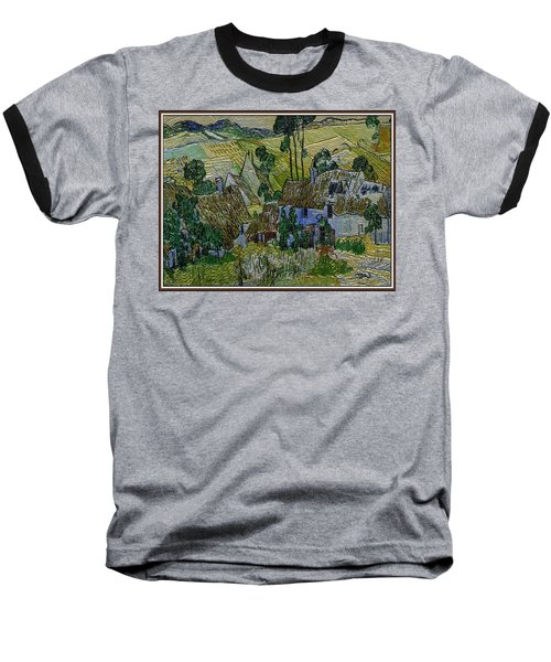 Baseball T-Shirt featuring the painting A Replica Of A Painting  Of Van Gogh by Pemaro