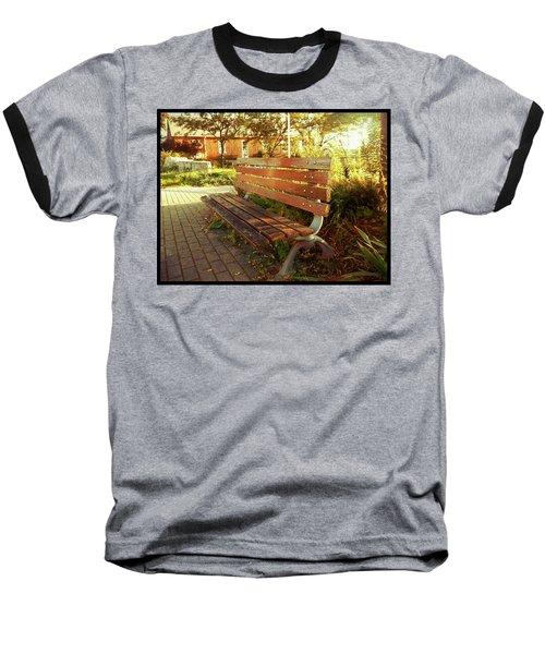 A Restful Respite Baseball T-Shirt by Shawn Dall