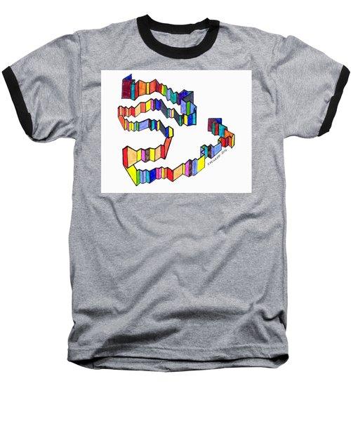 A Ribbon Of Color Baseball T-Shirt