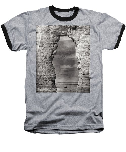 Baseball T-Shirt featuring the photograph A Ride Through Time by Darren White
