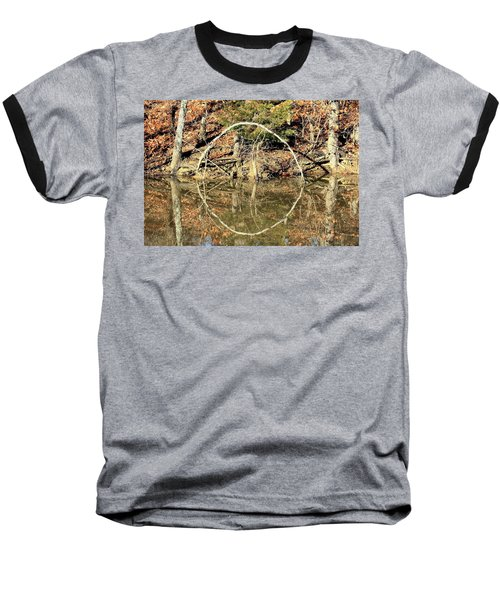 A Ring On The Pond In Fall Baseball T-Shirt