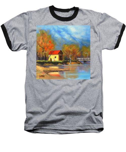 A River Bank Baseball T-Shirt