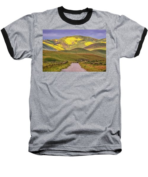 Baseball T-Shirt featuring the photograph A Road Less Traveled by Marc Crumpler
