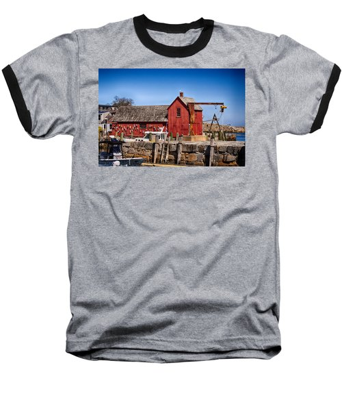 A Rockport Favorite Baseball T-Shirt by Tricia Marchlik