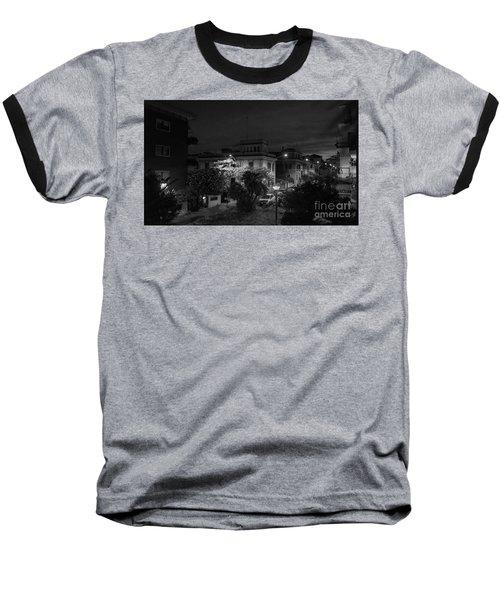 A Roman Street At Night Baseball T-Shirt