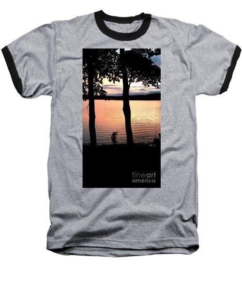 A Romantic Point Of View Baseball T-Shirt by Scott D Van Osdol