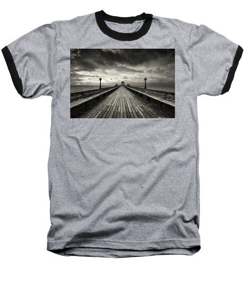 A Romantic Walk To The Past Baseball T-Shirt by Dominique Dubied