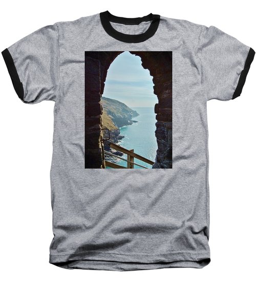 A Room With A View Baseball T-Shirt by Richard Brookes