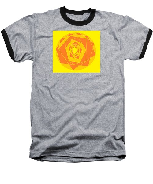 A Rose By Any Other Name 1 Baseball T-Shirt by Linda Velasquez
