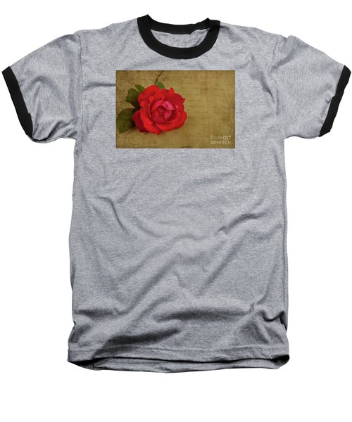 A Rose By Any Other Name Baseball T-Shirt by Lena Auxier