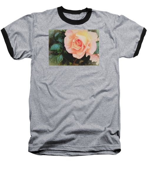 A Rose For Kathleen Baseball T-Shirt by Janice Rae Pariza