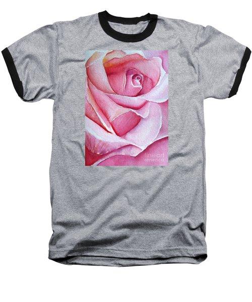 A Rose For You Baseball T-Shirt by Allison Ashton