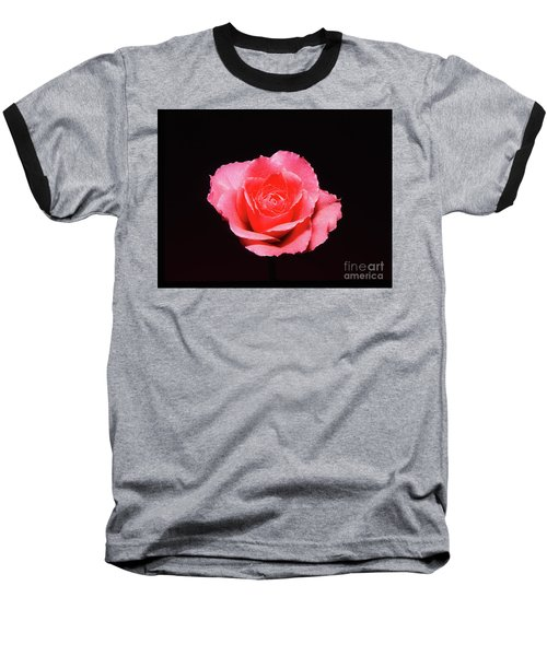 A Rose Is A Rose Is A Rose Baseball T-Shirt