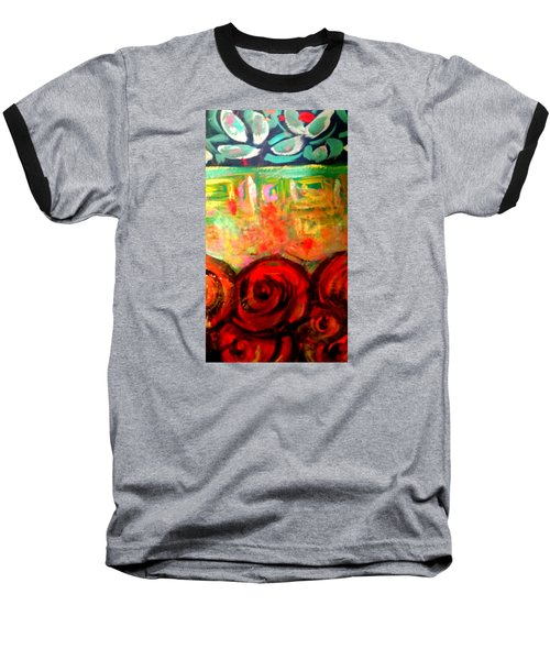 A Rose Is A Rose Baseball T-Shirt