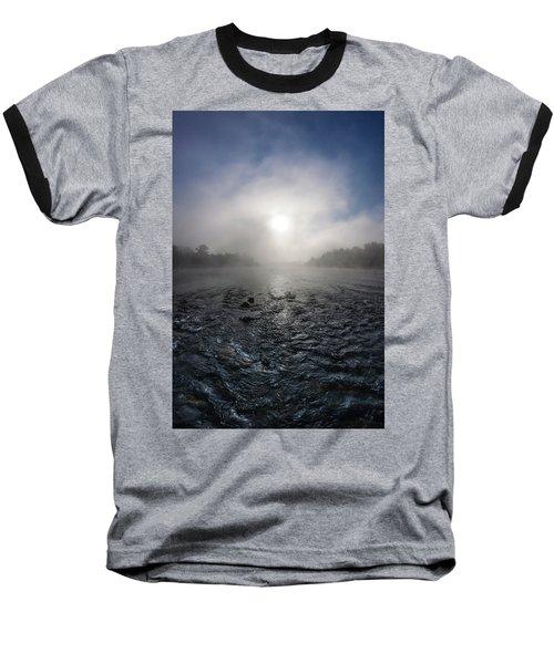 A Rushing River Baseball T-Shirt