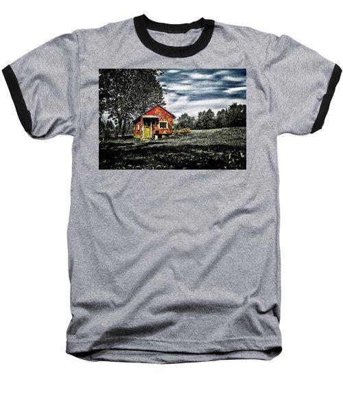 A Ruskin Shed Baseball T-Shirt