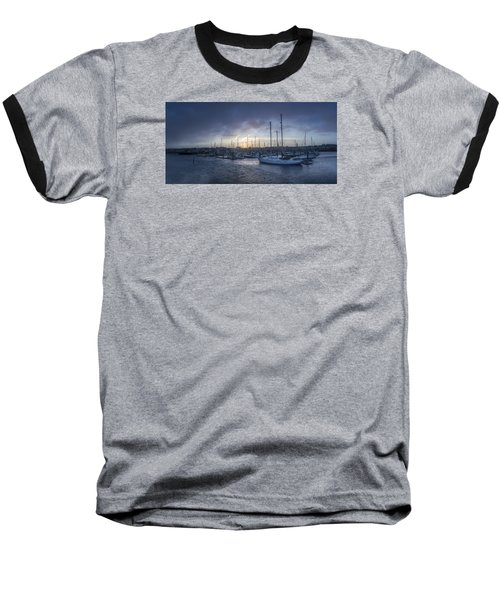 A Sailors Warning At Bangor Marina Baseball T-Shirt