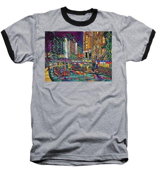 A San Antonio Christmas Baseball T-Shirt