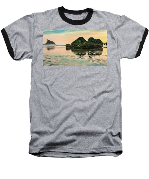 A Scene From The Beach Baseball T-Shirt