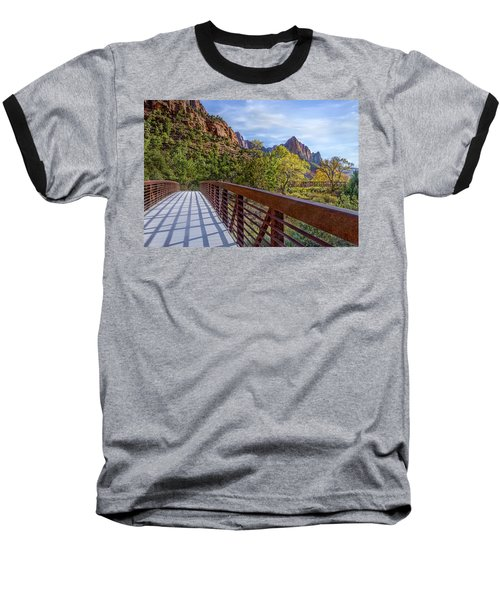 Baseball T-Shirt featuring the photograph A Scenic Hike by James Woody