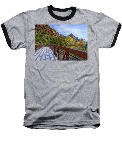 A Scenic Hike Baseball T-Shirt