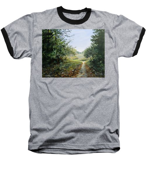 A Search Baseball T-Shirt