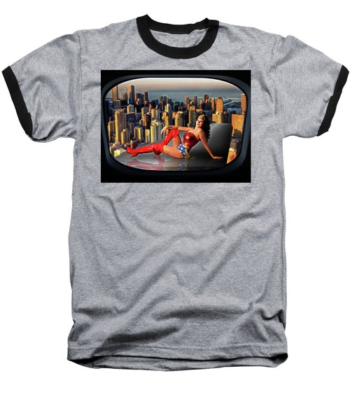 A Seat With A View Baseball T-Shirt