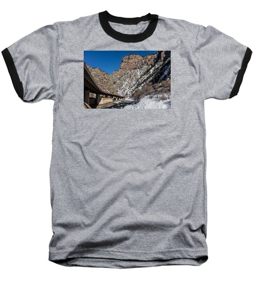 A Section Of The World-famous Glenwood Viaduct Baseball T-Shirt by Carol M Highsmith