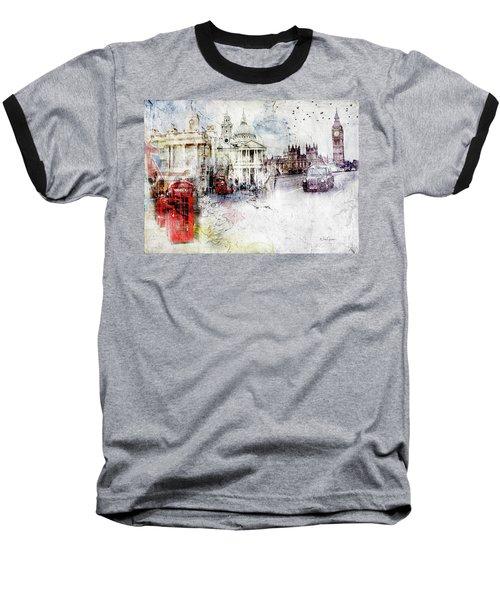 A Sense Of Time Baseball T-Shirt by Nicky Jameson