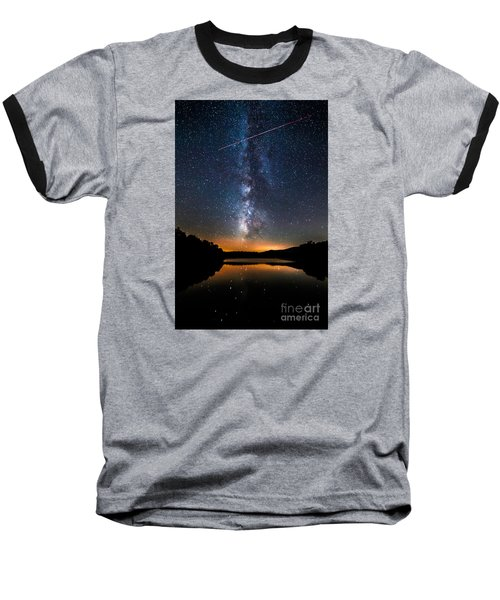 A Shooting Star Baseball T-Shirt