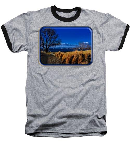 A Side Path Baseball T-Shirt