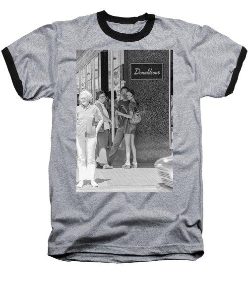 A Sidewalk Conference Baseball T-Shirt