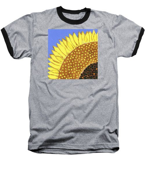 A Slice Of Sunflower Baseball T-Shirt