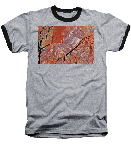 Baseball T-Shirt featuring the photograph A Slice Of Time by Gary Kaylor