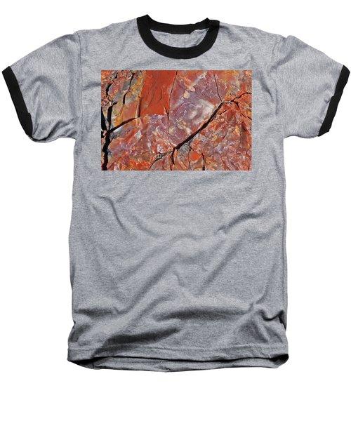 A Slice Of Time Baseball T-Shirt by Gary Kaylor