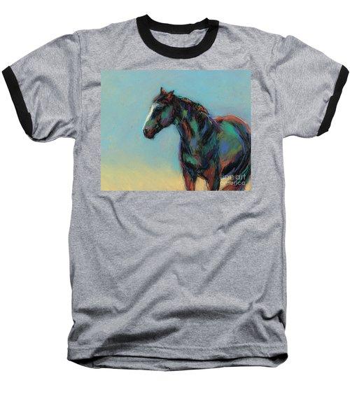 A Soft Breeze Baseball T-Shirt by Frances Marino