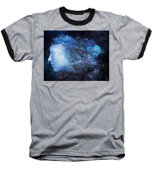 A Soul In The Sky Baseball T-Shirt