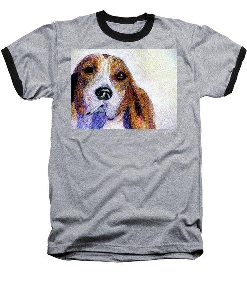 A Soulful Hound Baseball T-Shirt