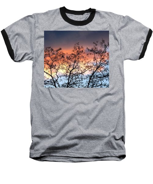 Baseball T-Shirt featuring the photograph A Splendid Silhouette by Will Borden