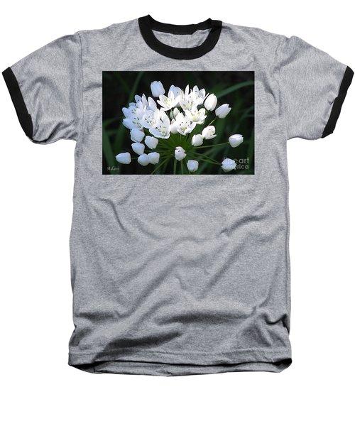 A Spray Of Wild Onions Baseball T-Shirt by Felipe Adan Lerma