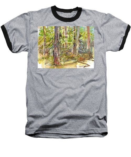 A Stand Of Trees Baseball T-Shirt