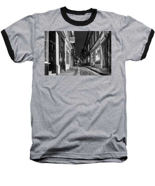 A Step Back In Time Baseball T-Shirt by David  Hollingworth