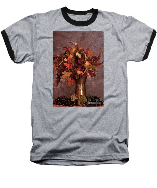 A Still Life For Autumn Baseball T-Shirt by Sherry Hallemeier