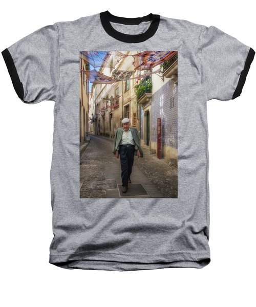 A Stoll In Coimbra Baseball T-Shirt by Patricia Schaefer
