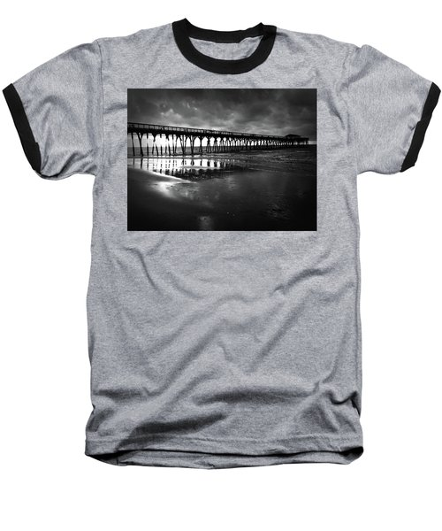 A Storm At Sunrise Baseball T-Shirt
