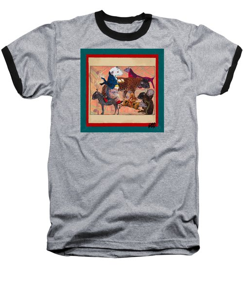A Strange And Wonderful People Baseball T-Shirt