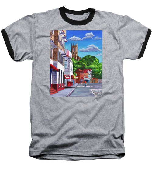 A Stroll On Melville Street Baseball T-Shirt