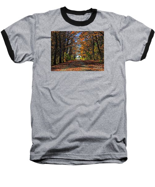 A Stroll Through Autumn Colors Baseball T-Shirt