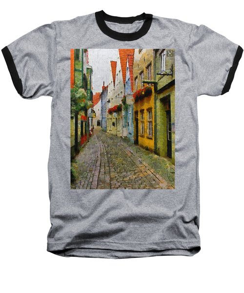 A Stroll Through The Street Baseball T-Shirt