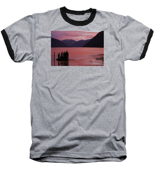 Baseball T-Shirt featuring the photograph A Sublime September Sunset by Stanza Widen